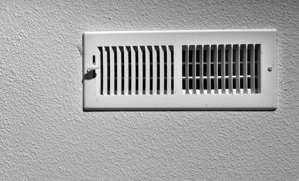 An air conditioning vent.