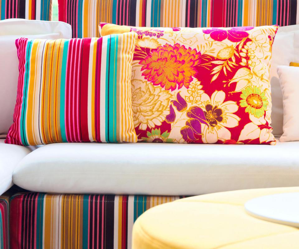 Pillow shams might help accent other pieces of furniture.