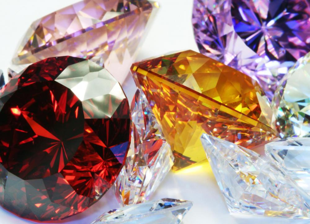 Gemstones are minerals that have been cut and polished for jewelry.