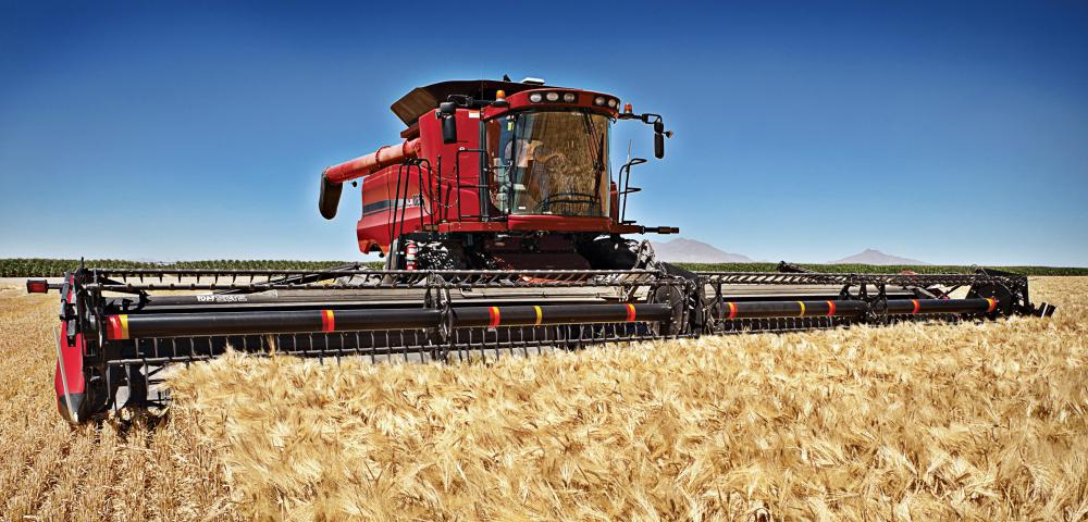 Significant crop yields can be harvested in a short period of time through use of a combine harvester.