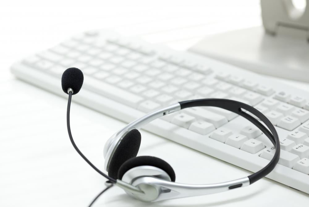 Headsets can be used to communicate to others over the Internet.