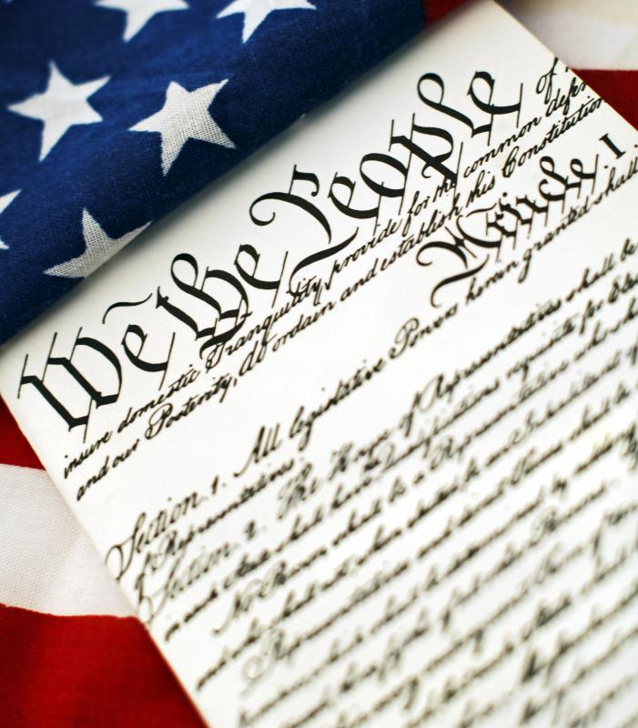 The first ten amendments of the US Constitution are commonly referred to as the Bill of Rights because they enumerate specific rights that are held by American citizens.