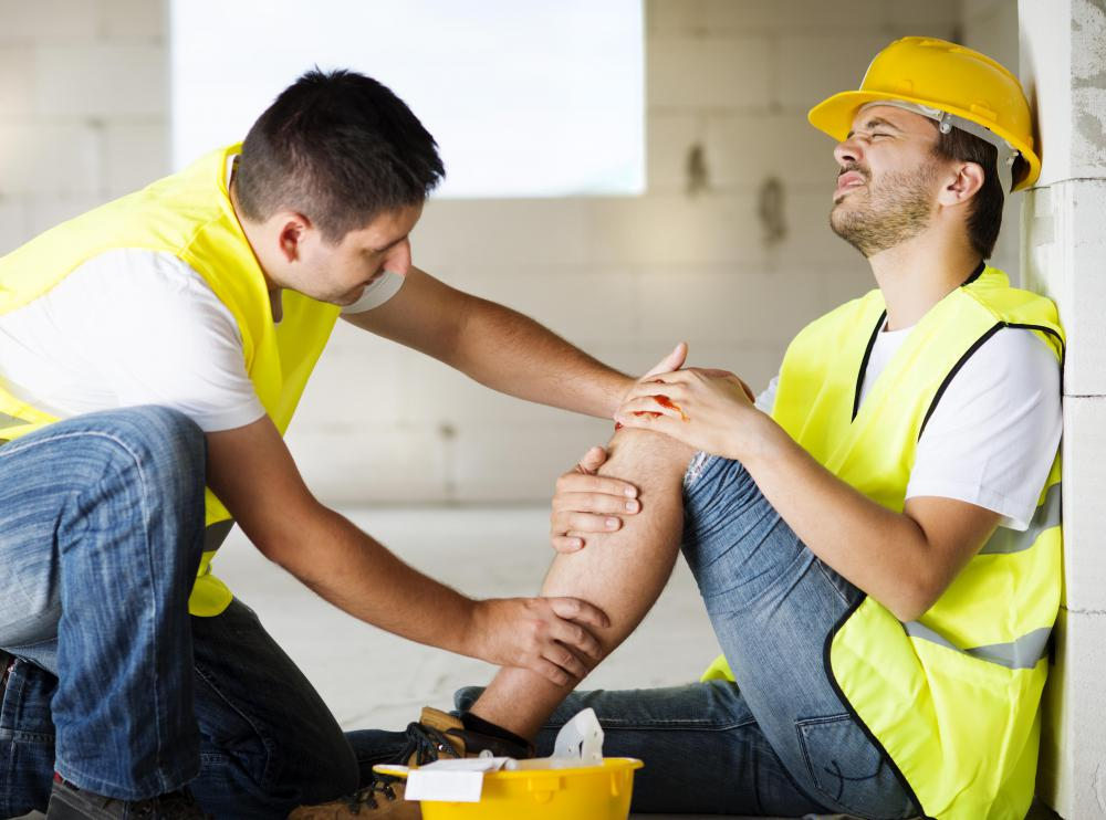 Employee injuries can be covered by commercial insurance.