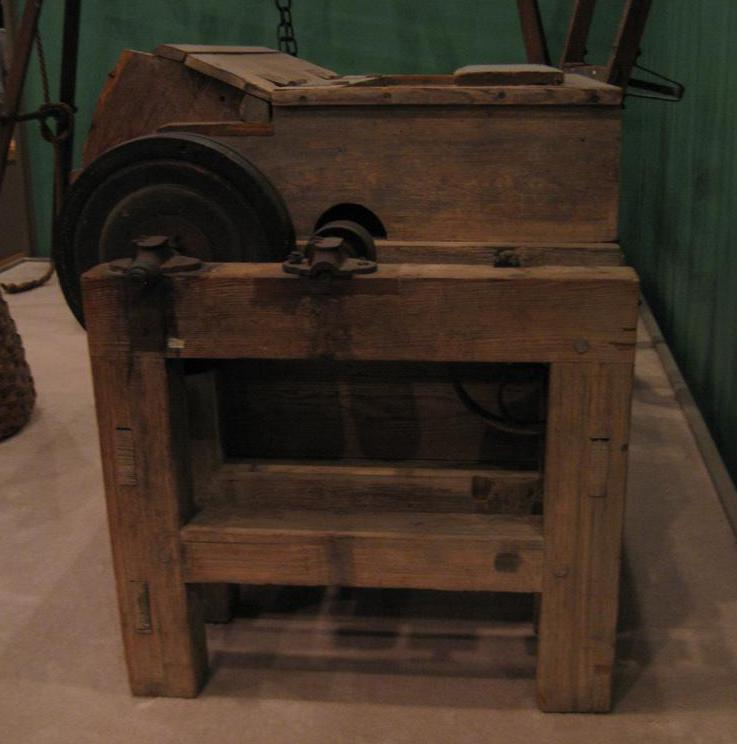 The invention of the cotton gin allowed for the quick removal of cotton seeds from its fibers.