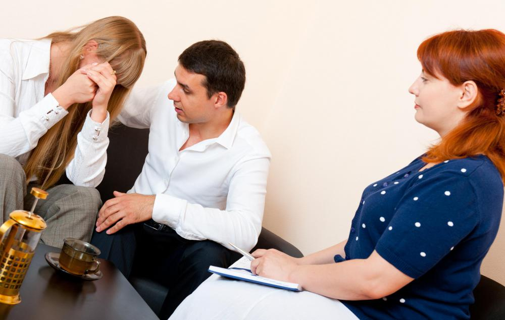 Active listening might be taught to couples during marriage therapy.