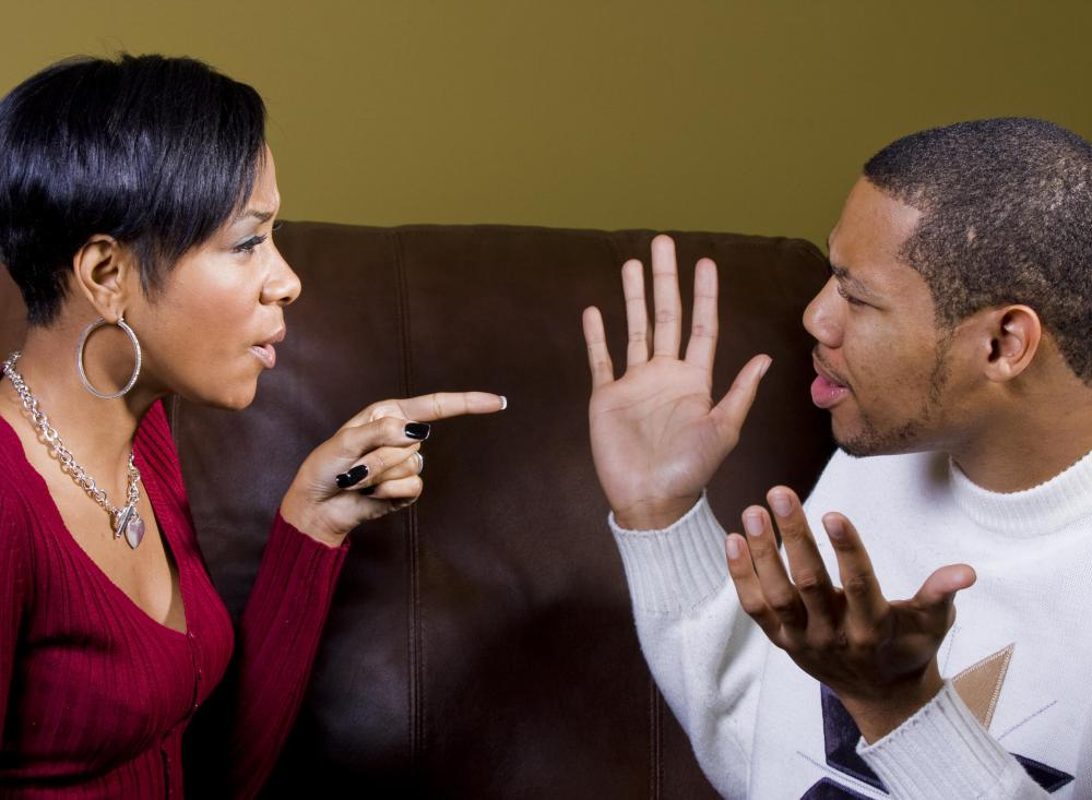 A couple's argument will many times be a zero sum game.