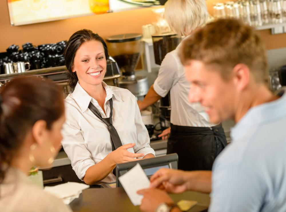 Restaurants much have a merchant account in order to accept credit card payments.