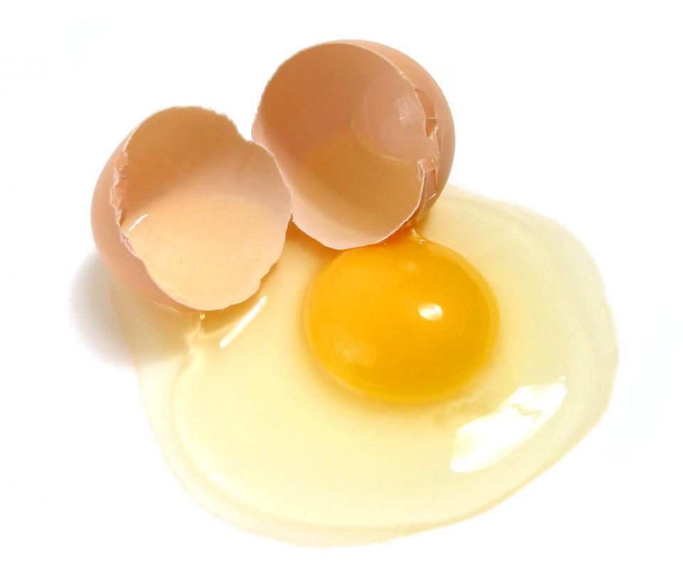 Eggs contain high amounts of cholesterol.