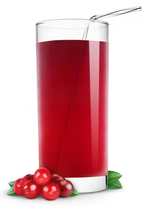 Cranberry juice may be able to help with bladder infections.