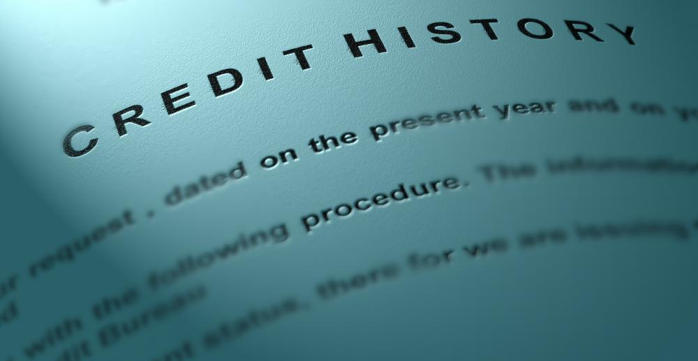Bank credit managers often secure information regarding a person's credit history.