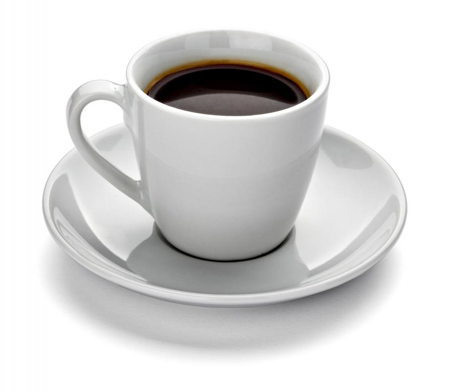 Drinking a cup of hot, black coffee may help relieve chest congestion.