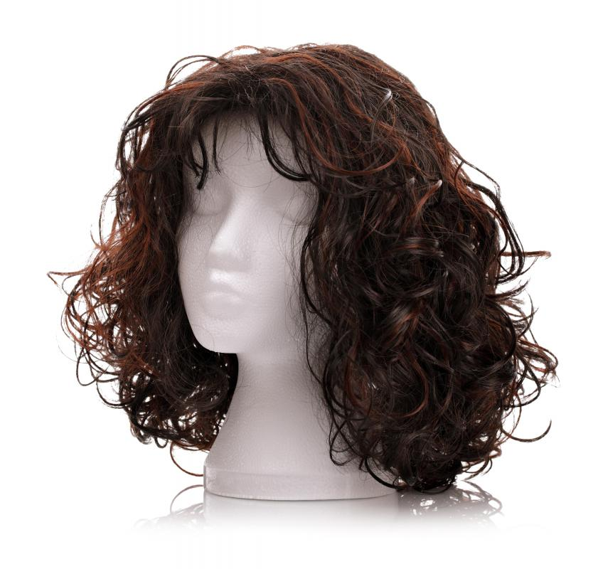 Fabric steamers can be used to clean wigs.