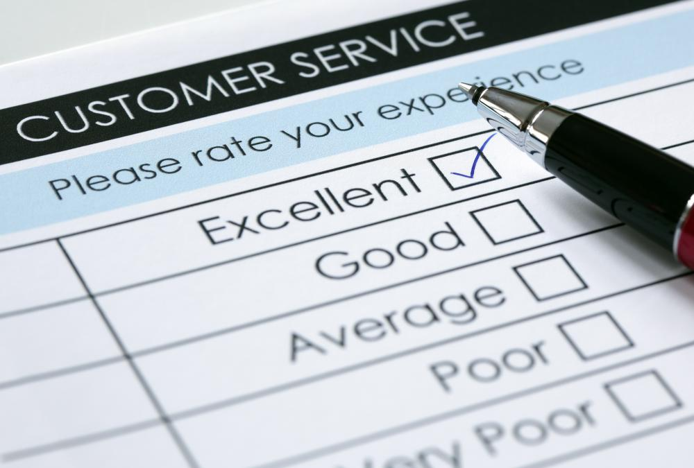 Customers satisfaction cards can help a business determine if changes need to be made in order to keep customers.