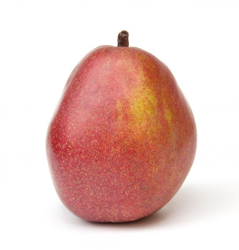 Pears contain soluble fiber.