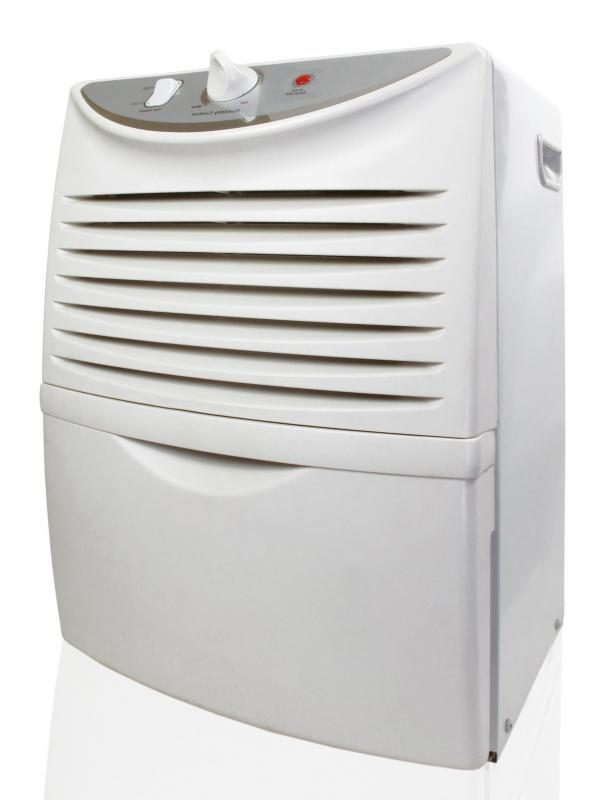 A dehumidifier may be used to reduce the chances of rust formation.