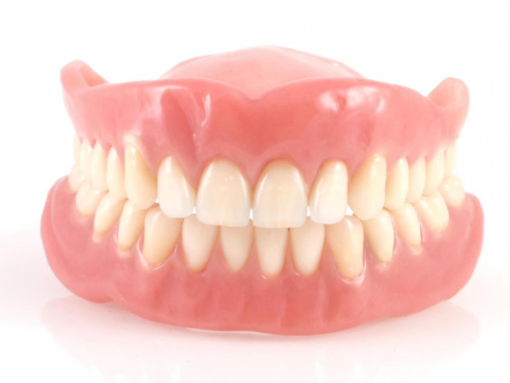 Dentures are prosthetic teeth worn by those who have lost their natural teeth.