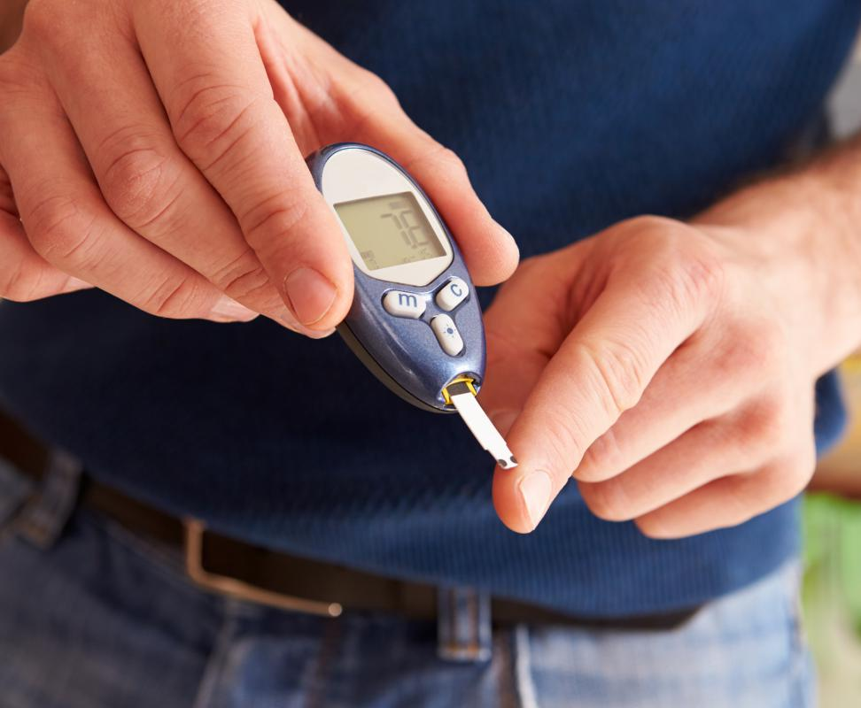 Physicians should be cautious when prescribing cortisone for a patient who has diabetes.