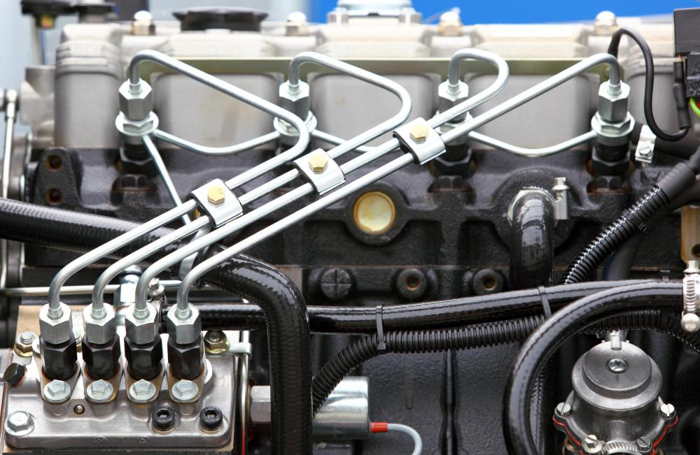 The distinctive knock of a diesel engine is caused by its direct fuel injection system.