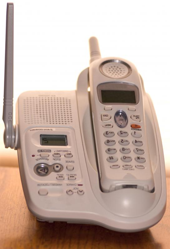 "The term ""landline"" is generally used to describe a home telephone connected to physical wiring."