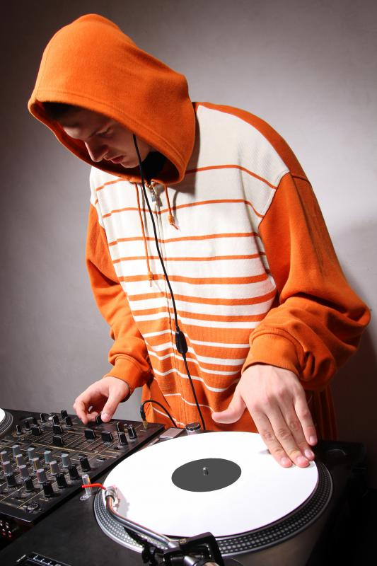 The DJ is a prominent element in hip-hop culture.