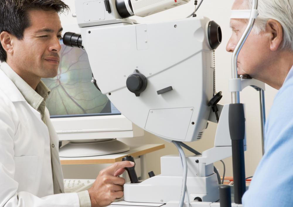 Glaucoma and other pressure-related conditions are often diagnosed during a regular eye exam.