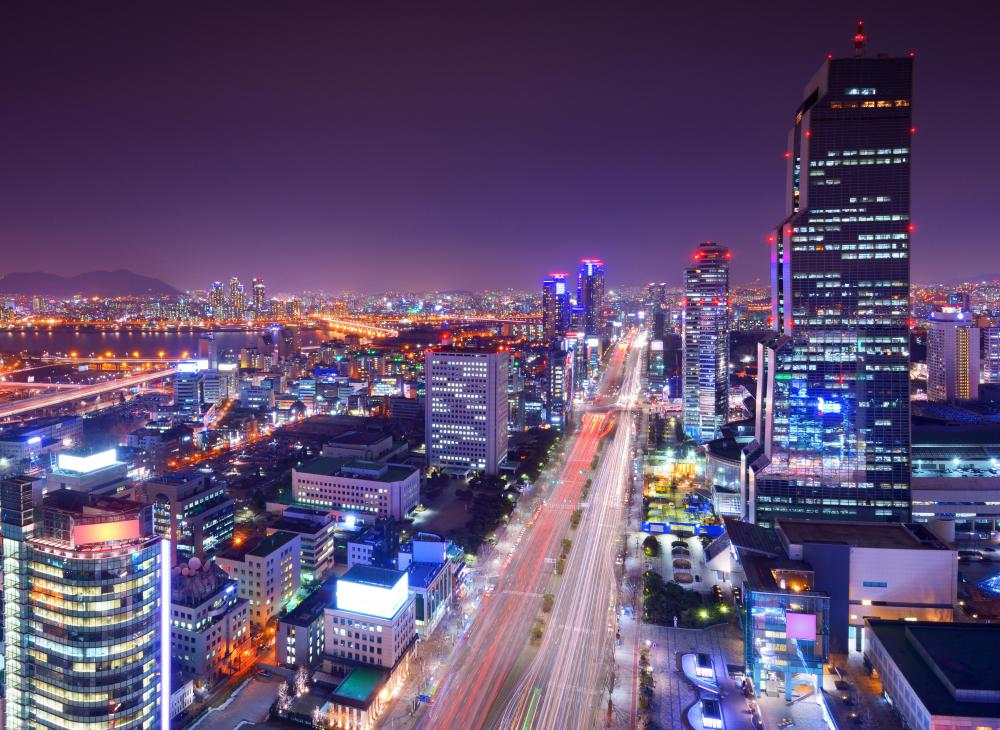 South Korea is known for its K-pop music.