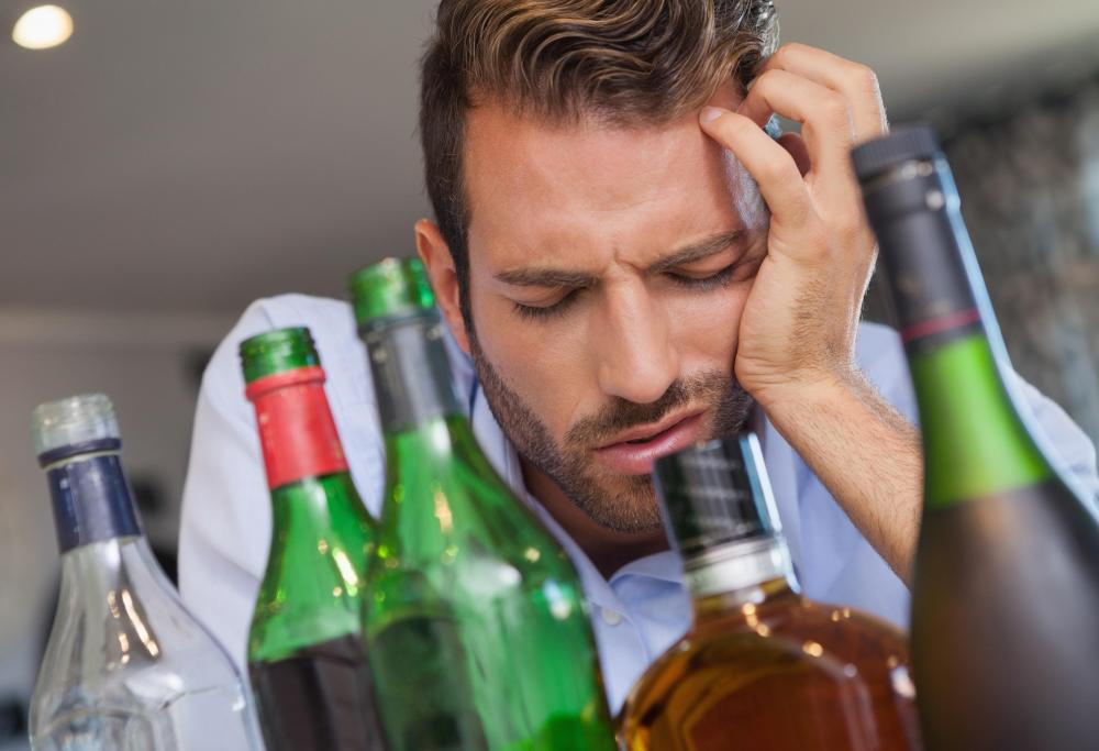 People who have consumed too much alcohol develop hangovers because their livers cannot process acetaldehyde fast enough.