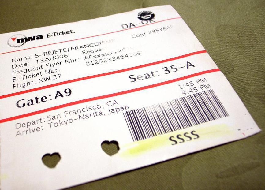 Most airlines issue e-tickets in place of paper tickets, however e-tickets can be printed.