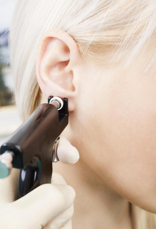 Sleeper earrings are designed to be worn by people who have had their ears pierced for the first time.