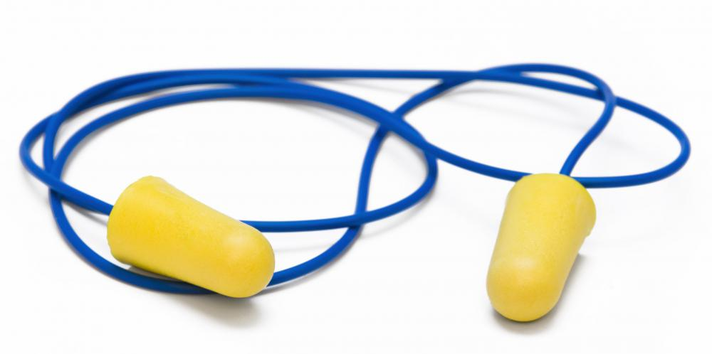 Wearing earplugs may benefit someone with noise anxiety, as they can help to mute the types of sounds that cause the anxiety.