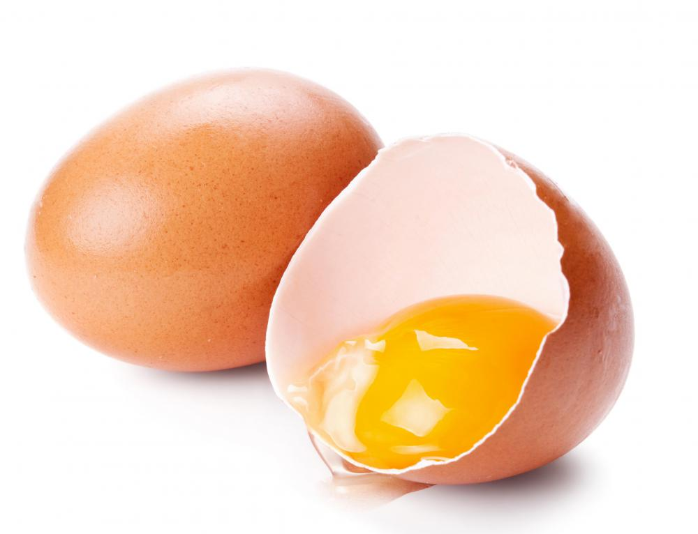 Lecithin is found naturally in egg yolks.