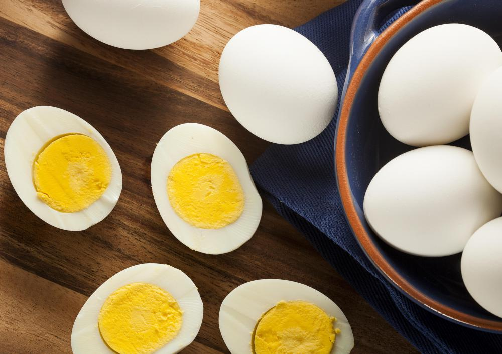 Allergies to eggs may cause skin welts.