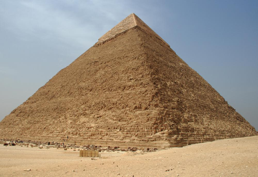 The pyramids in Egypt are a popular tourist attraction.
