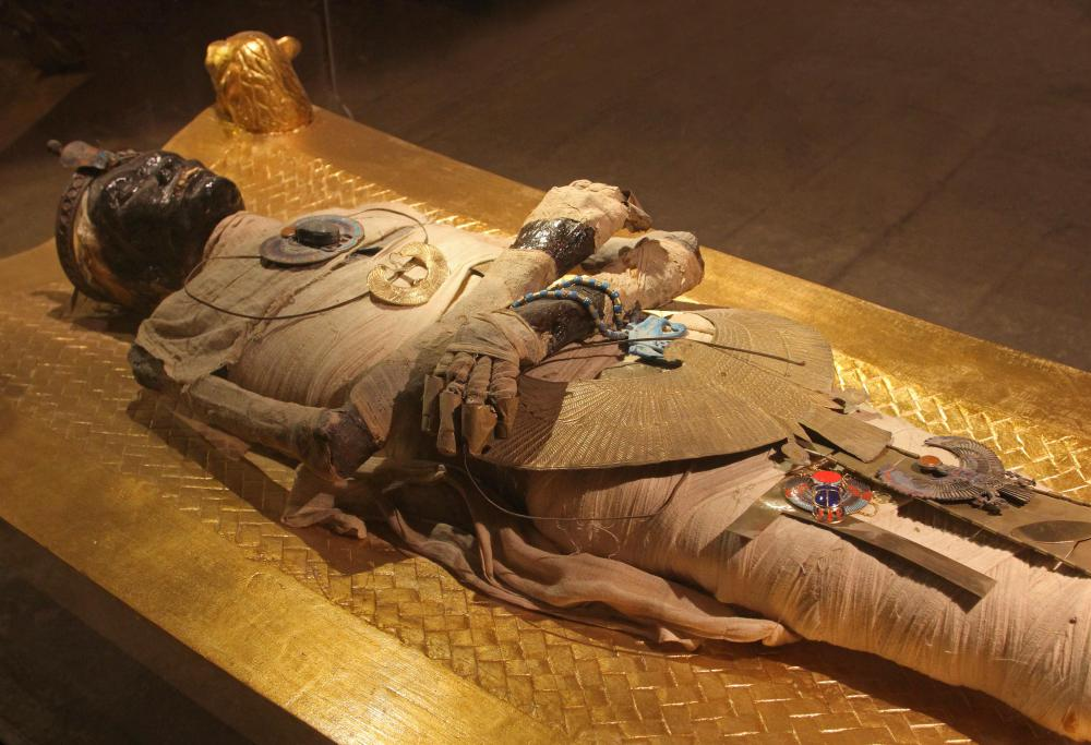 Ancient Egyptians believed that death masks gave power to mummies.