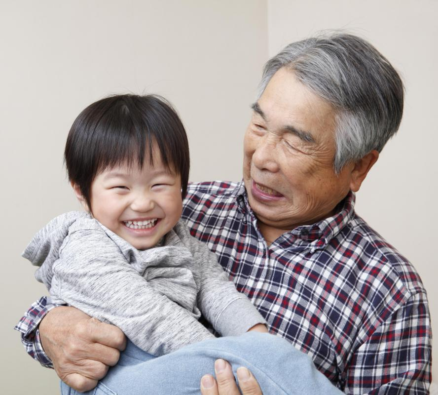 Elderly men and children are in the highest risk groups of developing a double hernia.