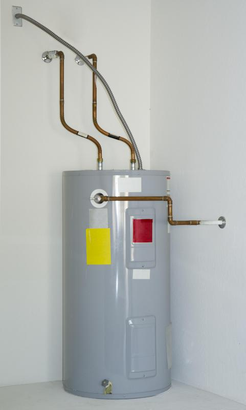 Water heaters have a water pressure regulator called the temperature pressure regulator valve.