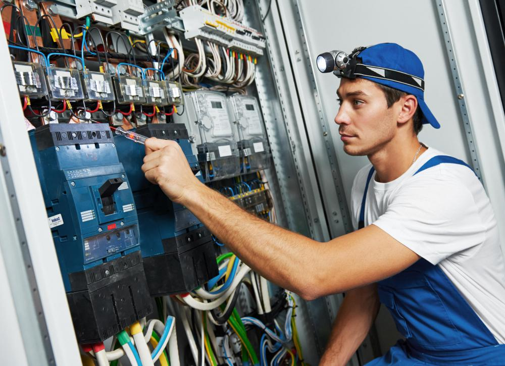 Industrial maintenance may require knowledge about the proper wiring of a machine being maintained.