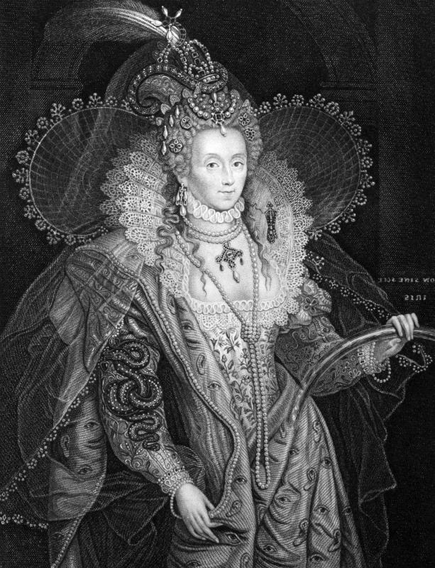 Queen Elizabeth I's reign of England and her focus on literature and theater brought about the English Renaissance.