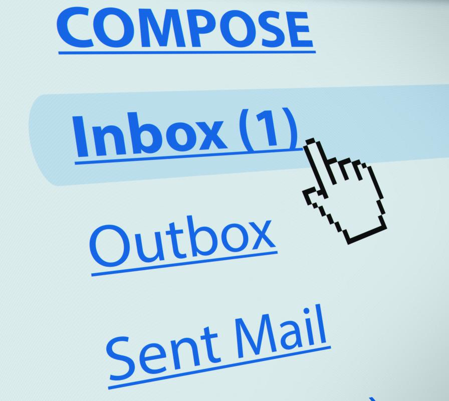 Most email services offer ways to block harassing messages.