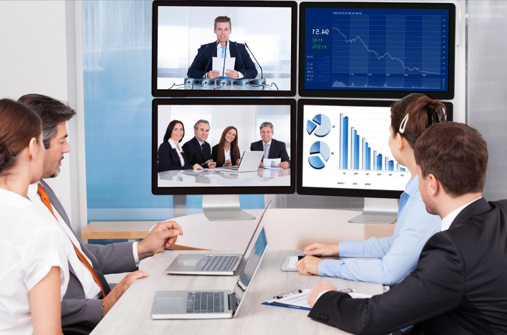 Video conferencing may help reduce a business's travel expenses.