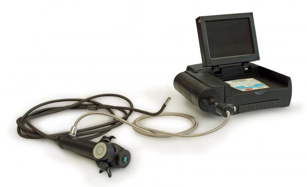 Endoscopy equipment.