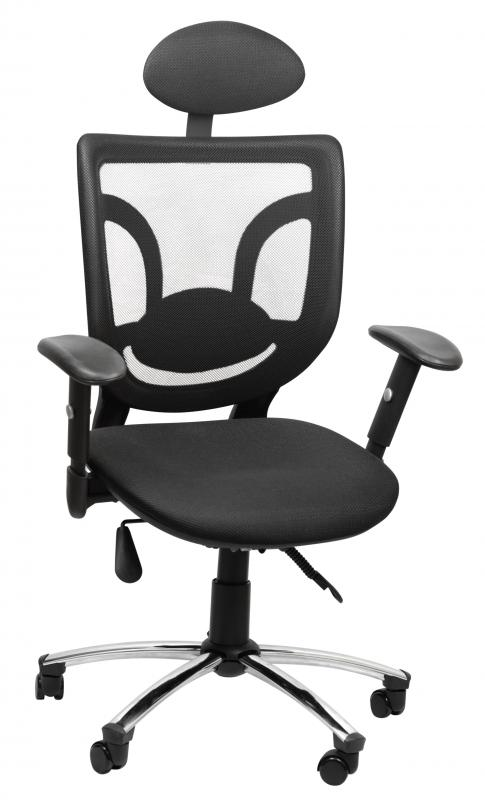 An ergonomic chair should have a variety of adjustable features.