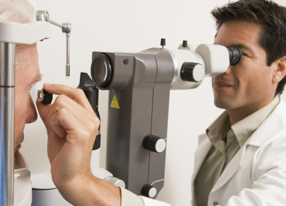 An eye exam should be scheduled as soon as possible for anyone with blurry vision.
