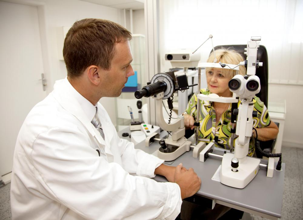 Consult with an optometrist if you are experiencing vision problems.