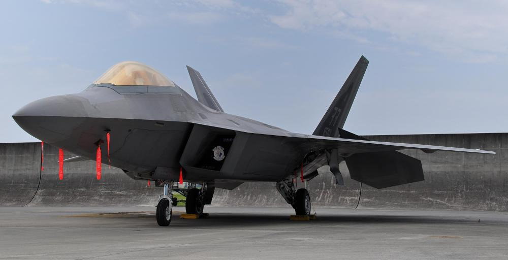 Some UFO reports may have been inspired by sightings of the stealth prototype aircraft that the F-22 Raptor is descended from.