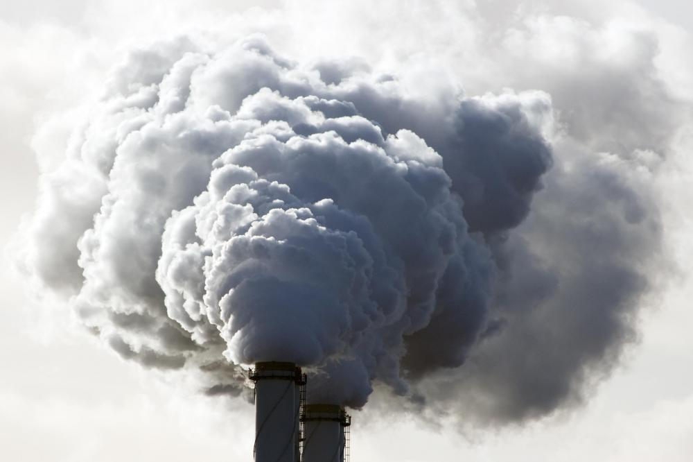 Air pollution is also a part of the abiotic environment that can impact life.