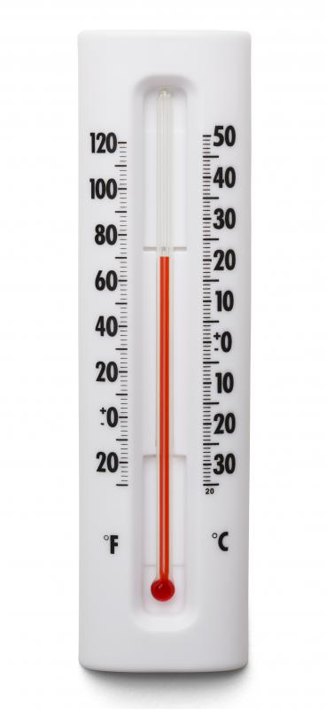 A mercury thermometer is a termperature measuring device.