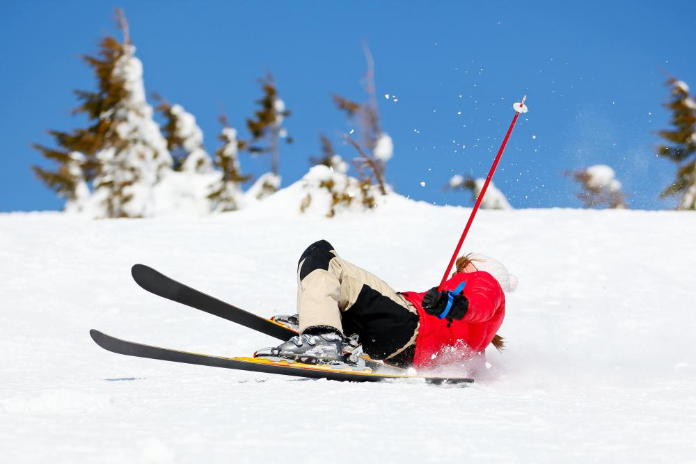 Ski operators make sure skiers enter and exit lift chairs safely.