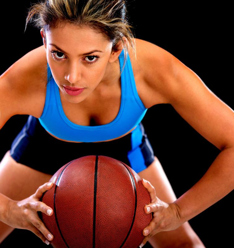 Basketball dribbling may be included in a circuit training workout.