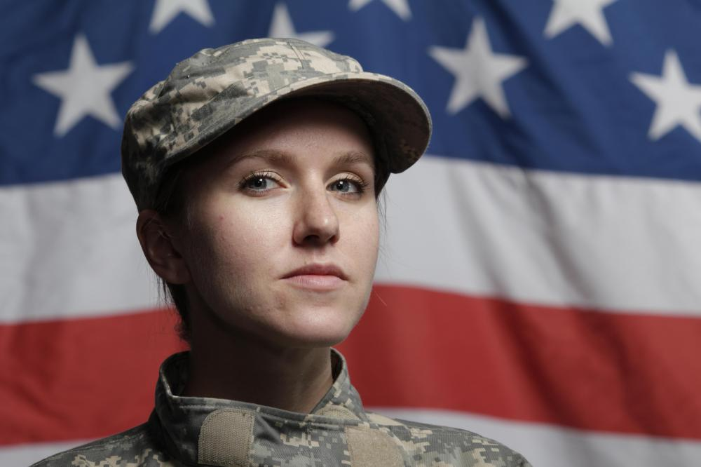 A sexist may believe that women are unsuited for traditionally male roles like military command.
